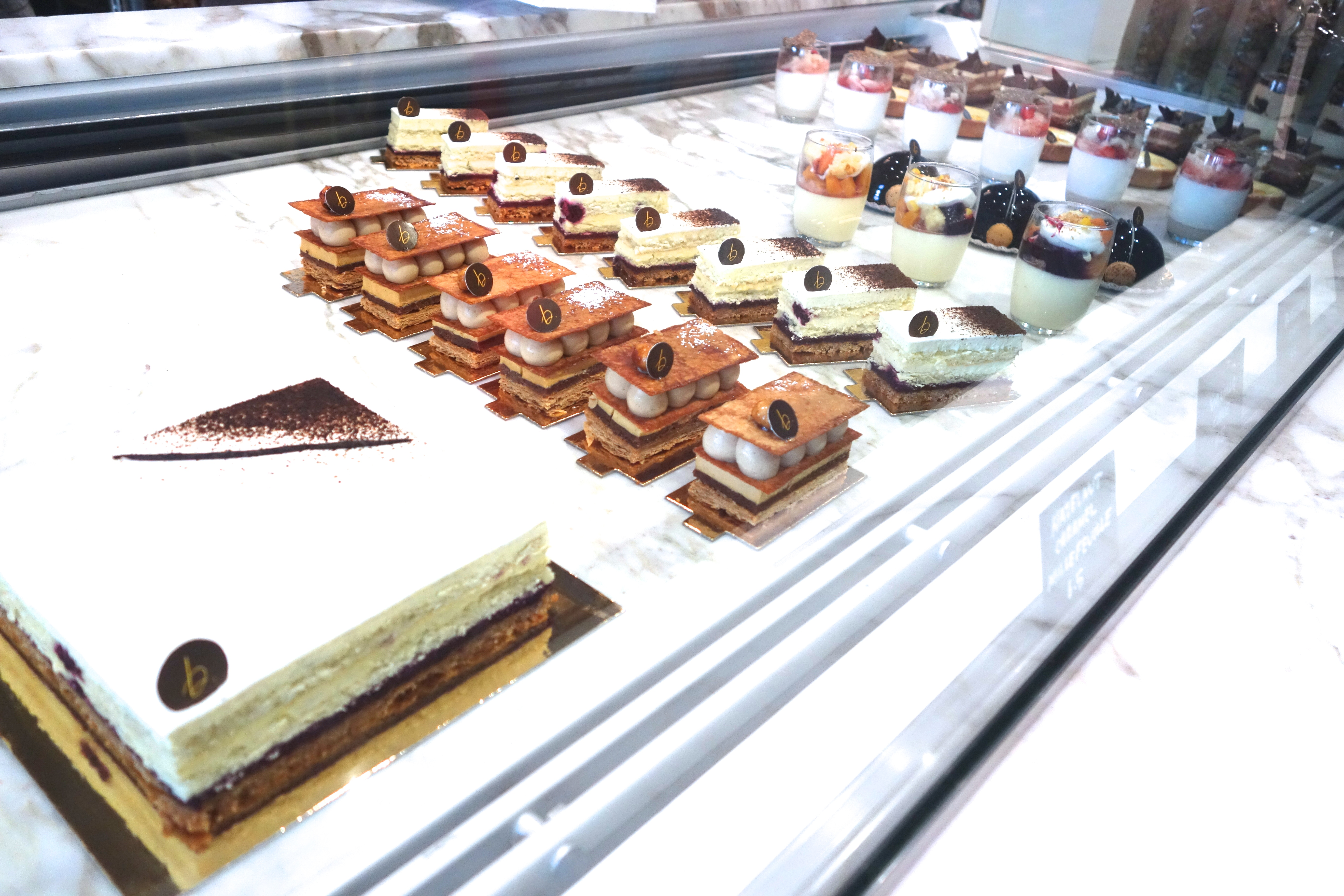 Pastries from B. Patisserie
