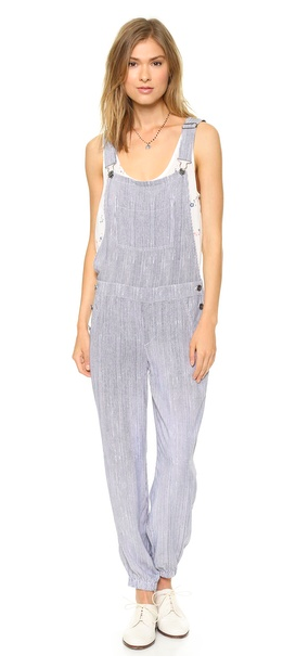 splendid 100% rayon and 100% made in USA overalls