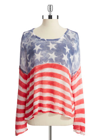 Weekly Wants and Needs from Miss American Made. Flag top by Truehitt. Love it! Made In USA