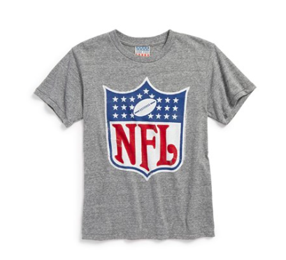 NFL shirt for kids! Throw an American Made Football Party. Get this shirt for your kid!