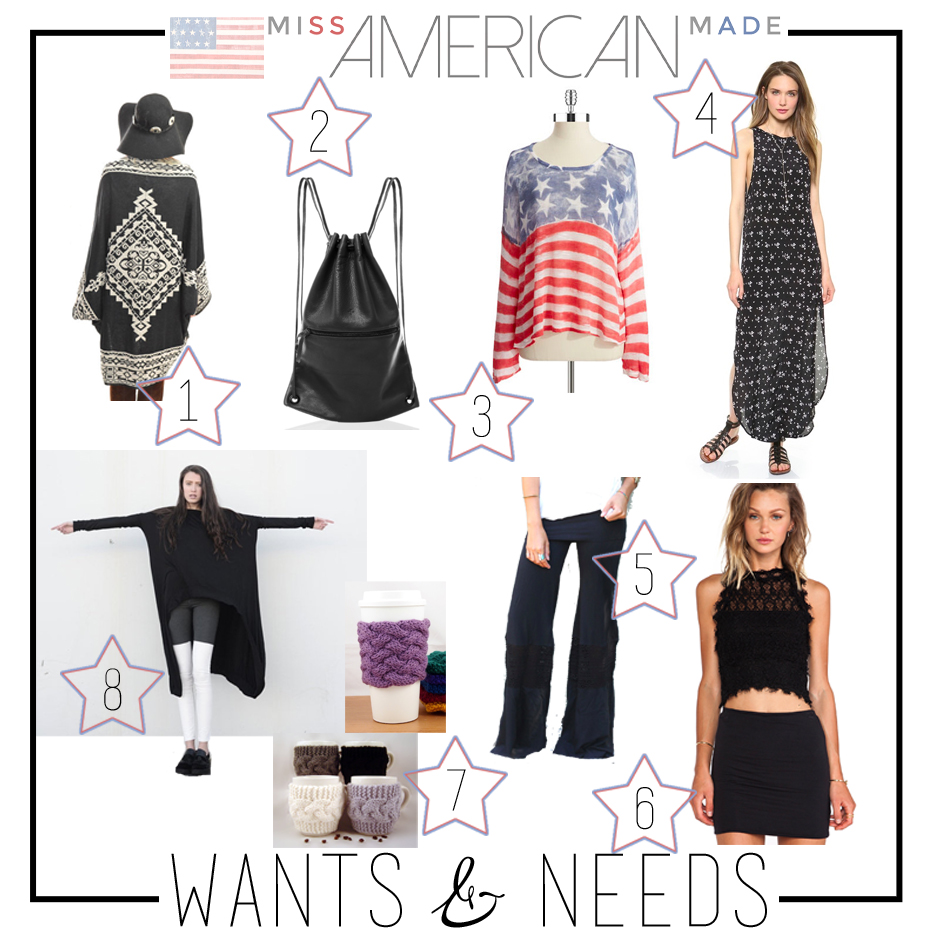 Weekly Wants and Needs From Miss American Made