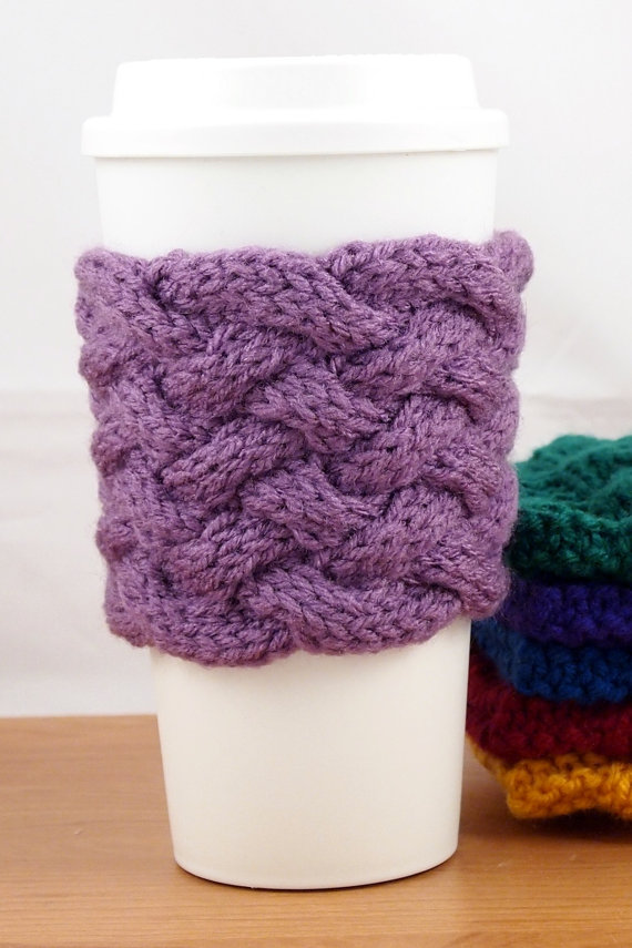 Weekly Wants and Needs from Miss American Made: Coffee Cup Cozies in literally every color! How adorable!