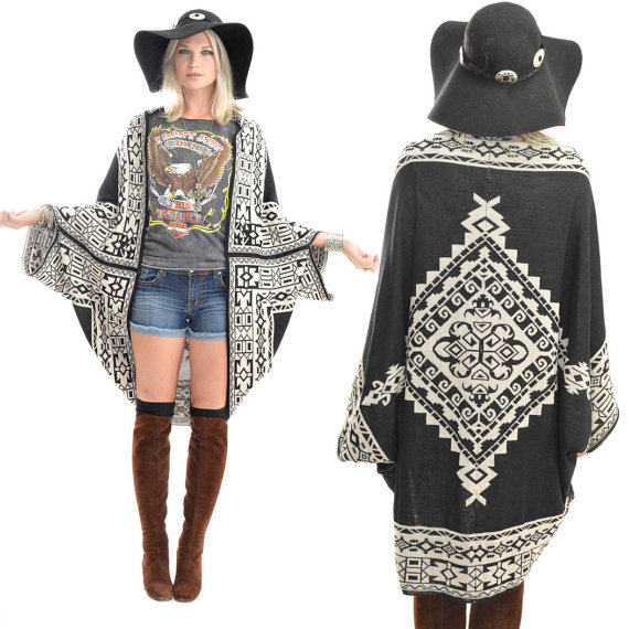 Weekly Wants and Needs From Miss American Made. Made in USA Kimono by Saldana Vintage. So cute!