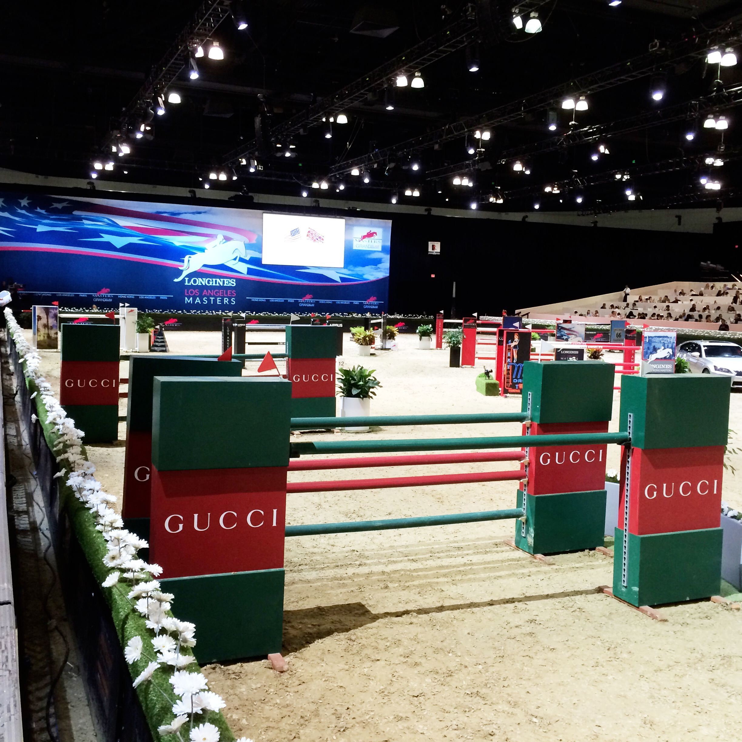 Huge Jumps at the Masters Grand Slam Horse Show in Los Angeles