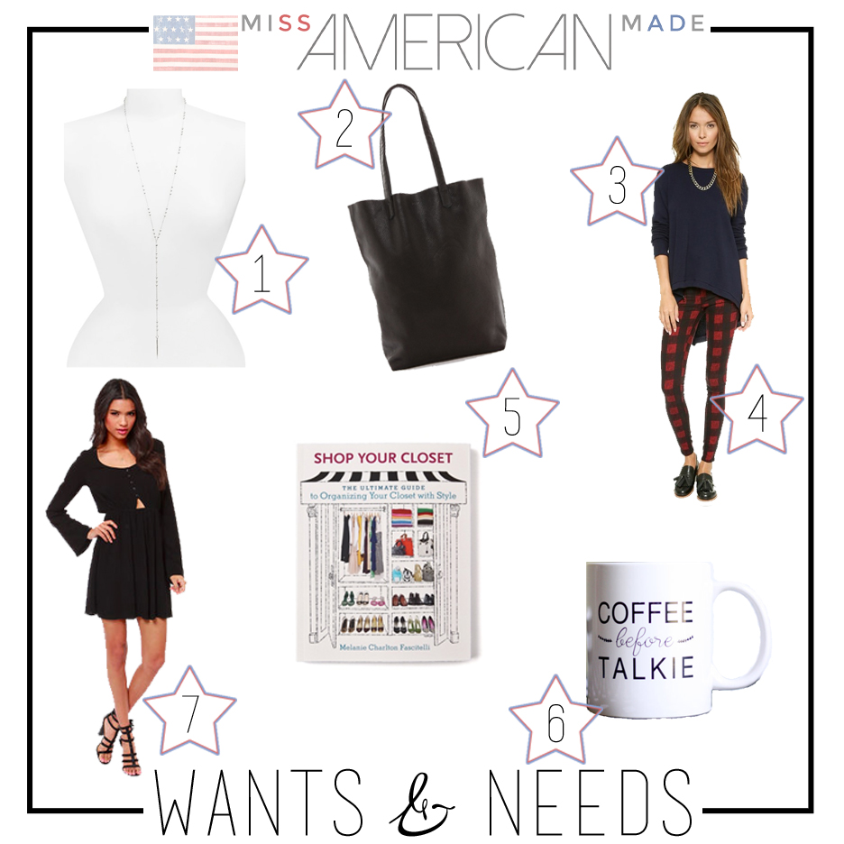 American Made Weekly Wants & Needs