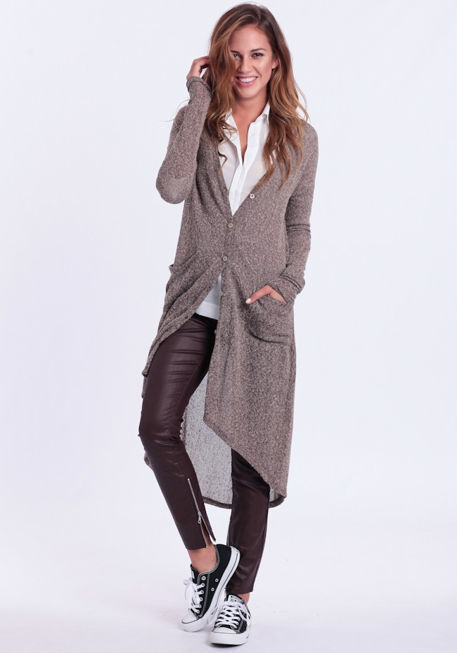 Fall in Line Long cardigan on Miss American Made's Wants & Needs List 50 bucks and under! Only $42.00 and it's made in USA!
