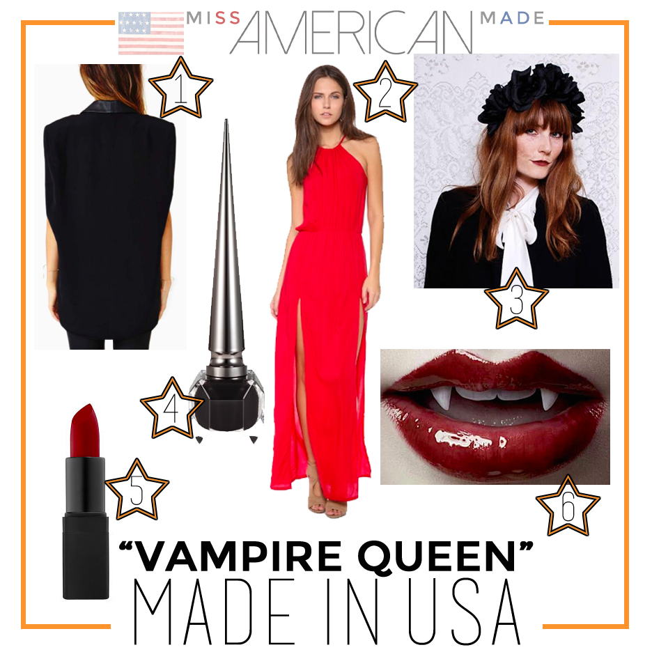 Vampire Queen  Costume Made in USA