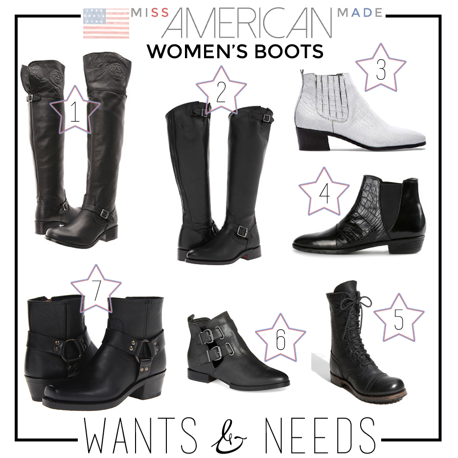 Women's boots made in USA!