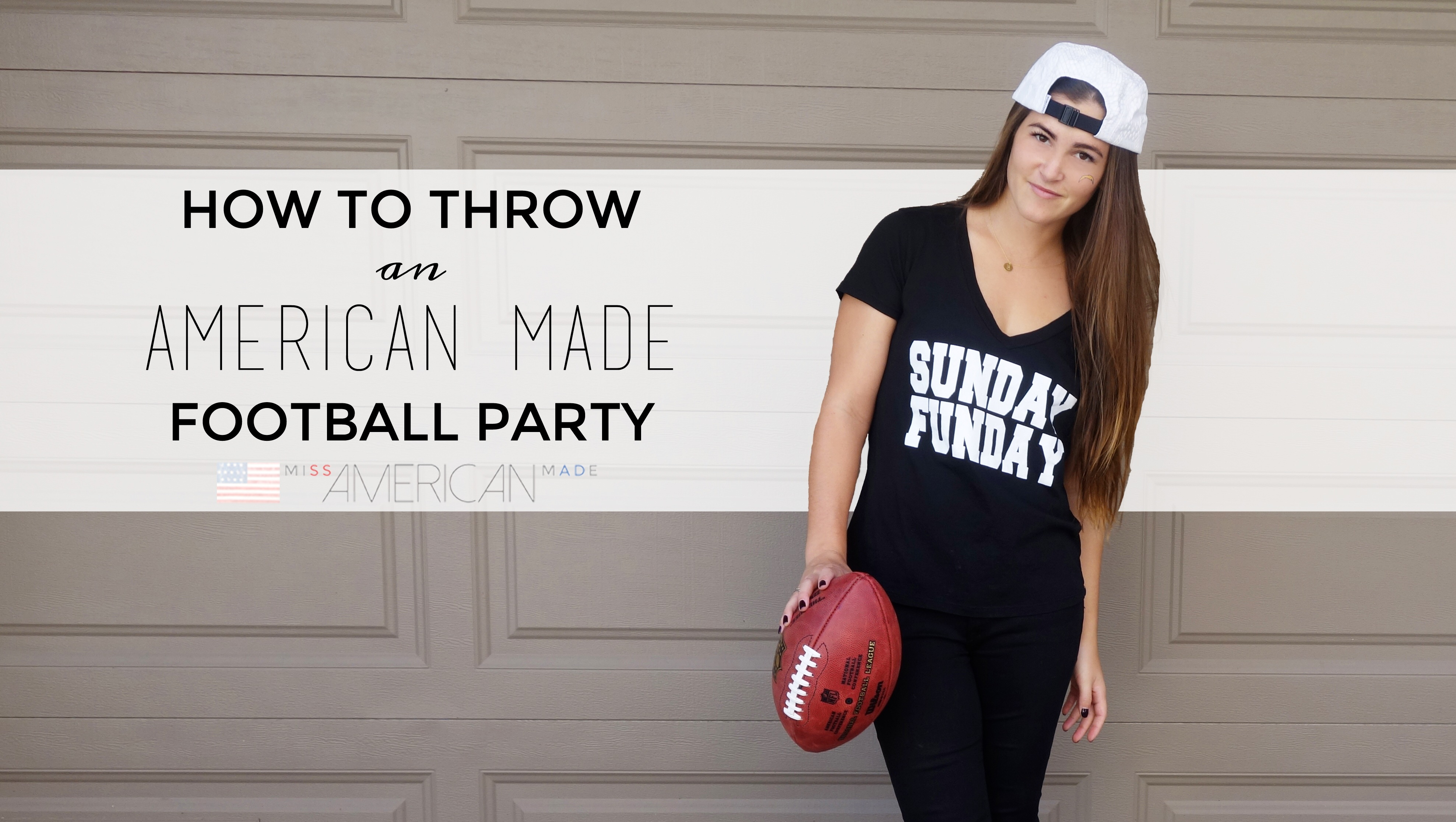 How To Throw A Made In USA Football Party