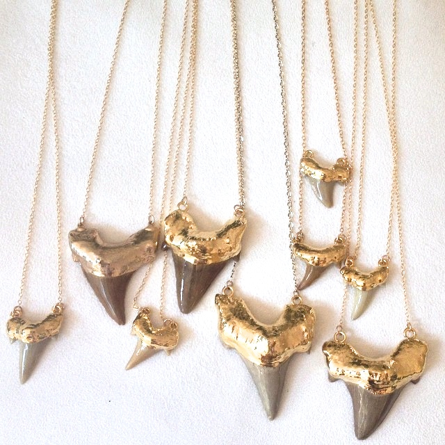 JAWS and Baby JAWS necklaces by JNB Style Jewelry