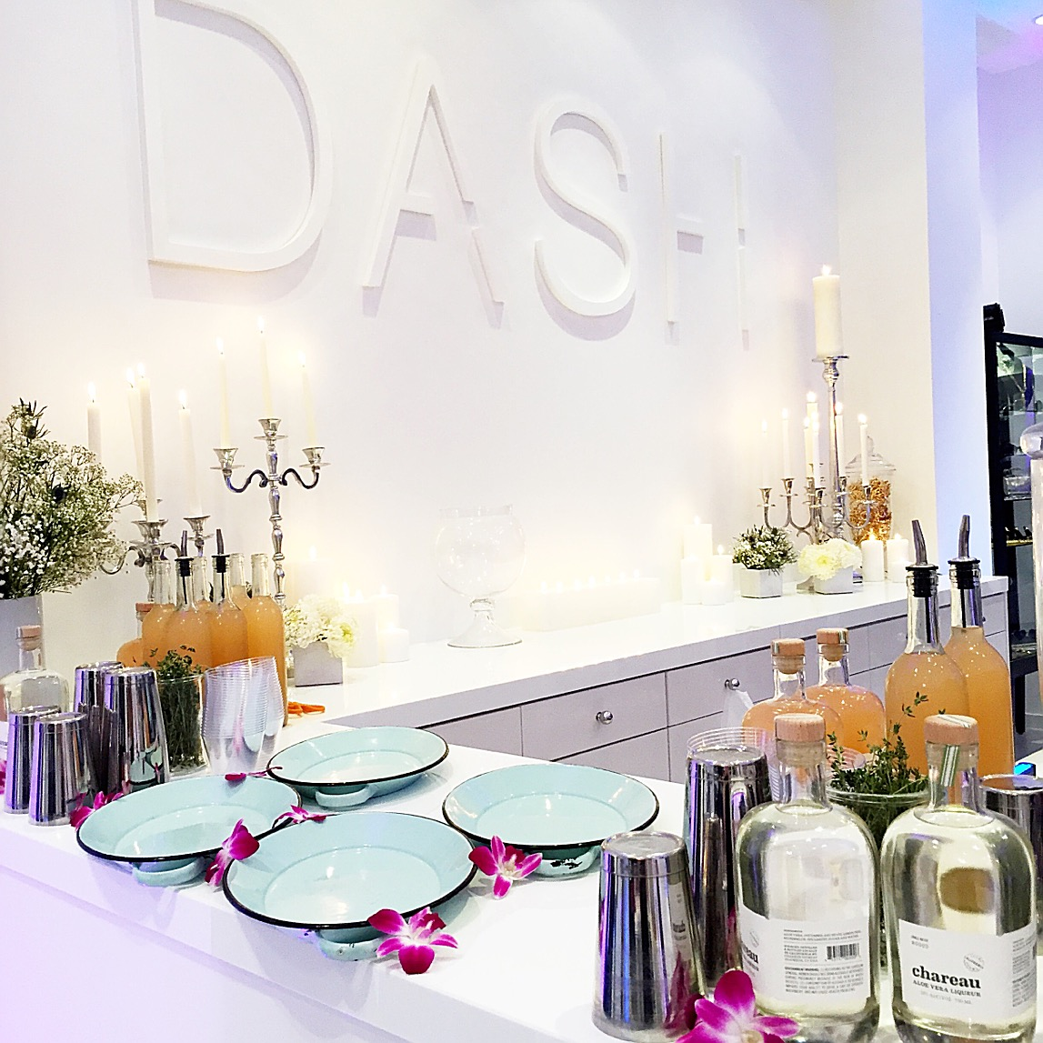 Cocktail bar at DASH boutique hosted JNB Style Party