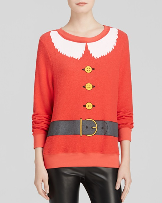 Santa and Elf Pullover by Stone Cold Fox made in USA