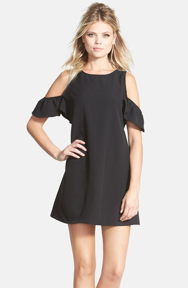 Jane and Hudson Cold Shoulder Dress, made in USA, under 50 bucks, Cyber Monday deal