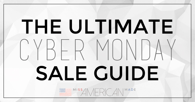The Ultimate Cyber Monday Sale Guide: All MADE in USA Items
