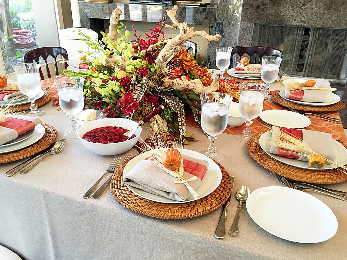 Thanksgiving festivities: smaller extra seating