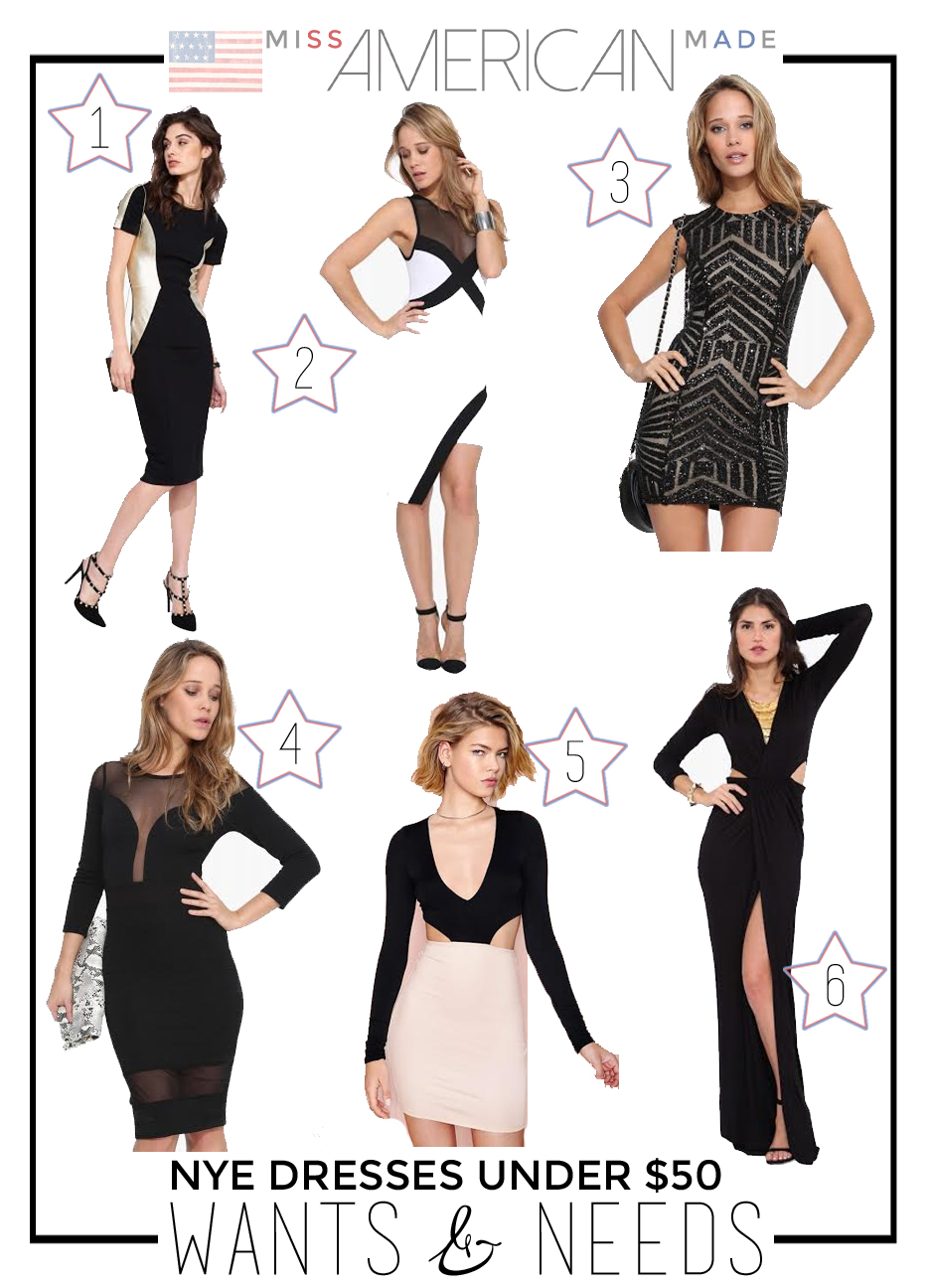 New Year's Eve Dresses Under $50.00 and made in USA!