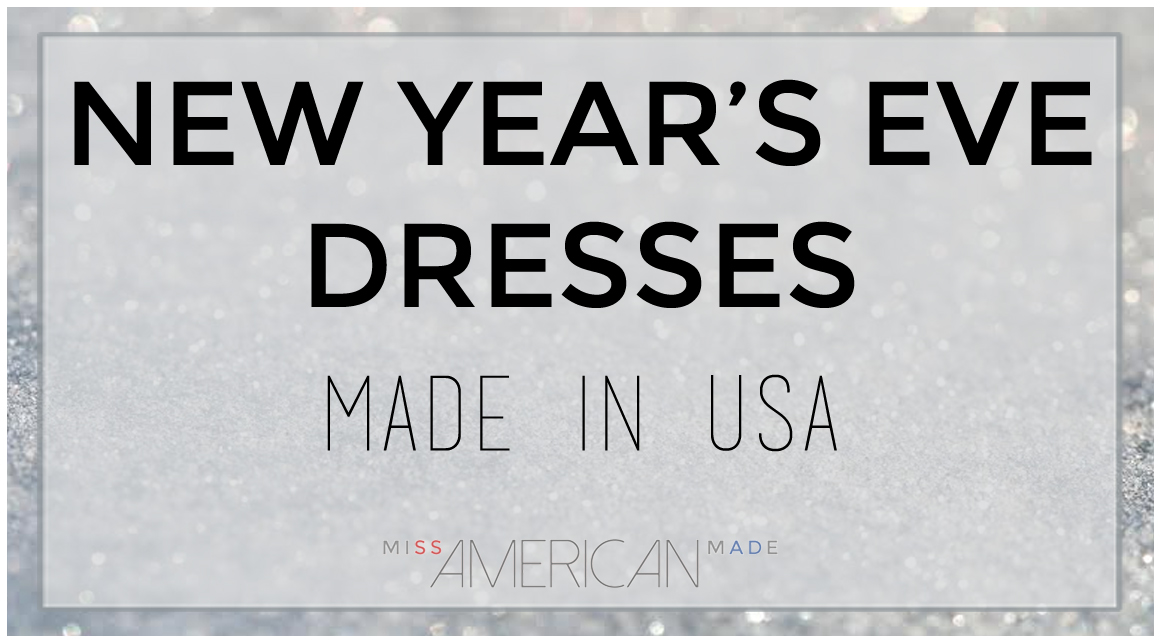 New Years Eve Dresses Made In USA