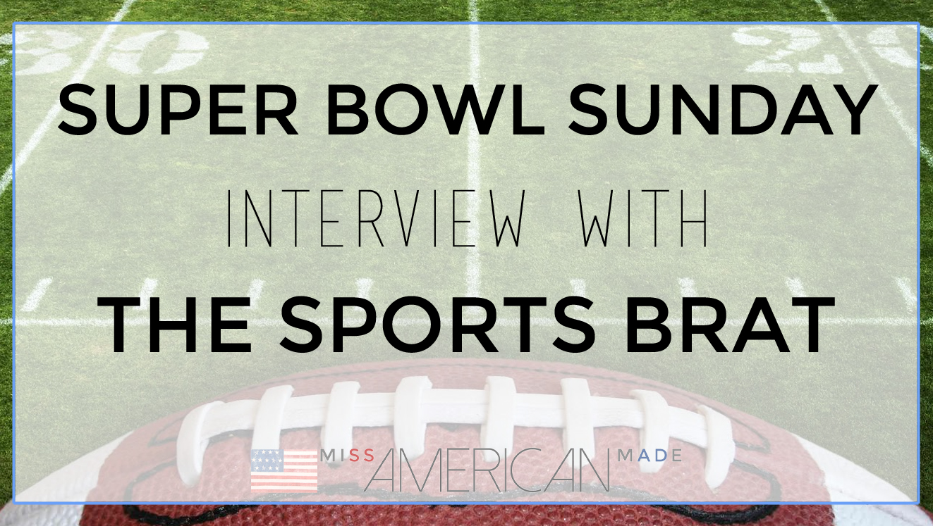 Super Bowl Interview With The Sports Brat