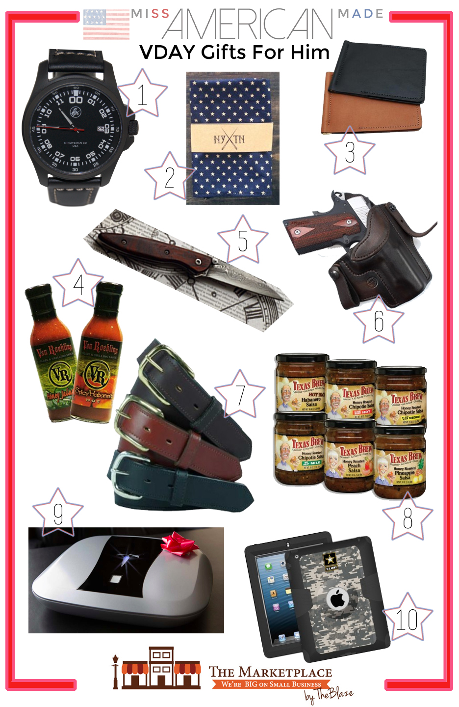 VDAY Gifts For Him From The Marketplace By The Blaze