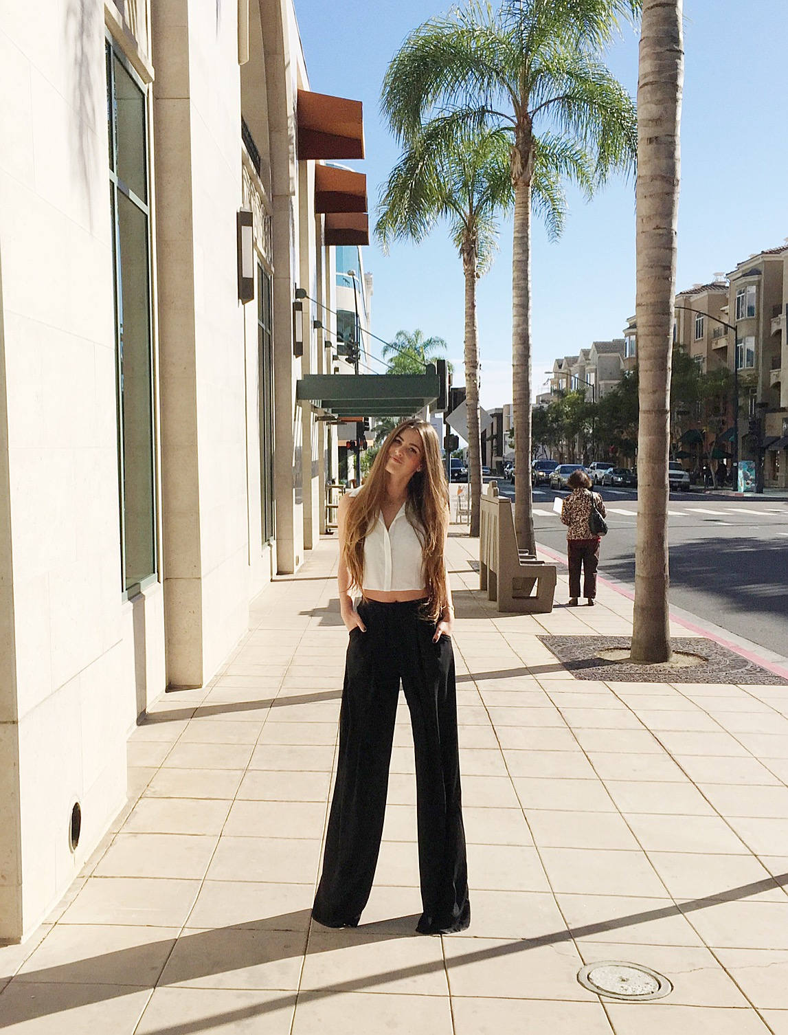 How To Rock Wide Leg Pants all made in USA!
