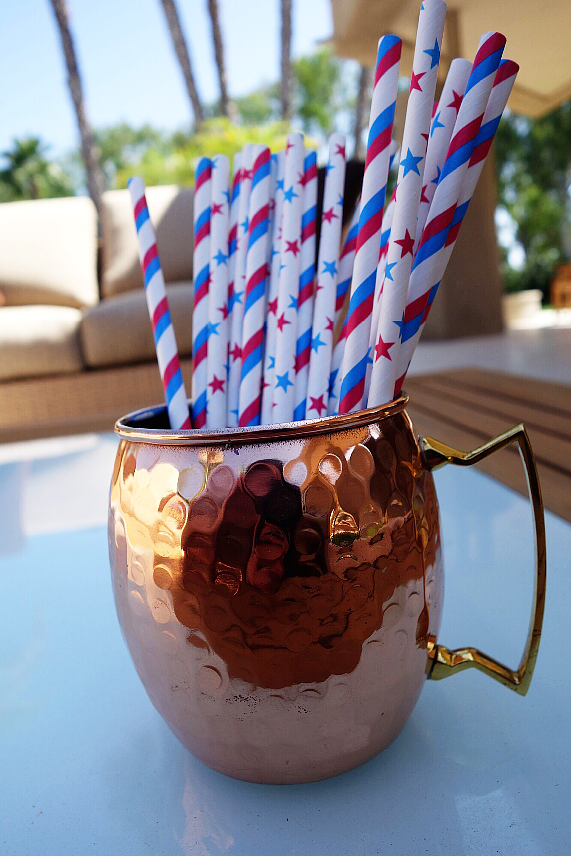 Cute, USA Flag print straws. The Best Labor Day Weekend Online Sales. Who's ready to save?? By Miss American Made.